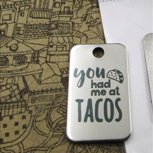 𝕙𝕡! You had me at TACOS Necklace